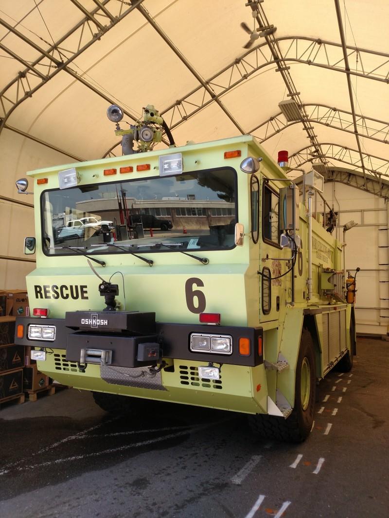 Hayward Aircraft Fire Unit