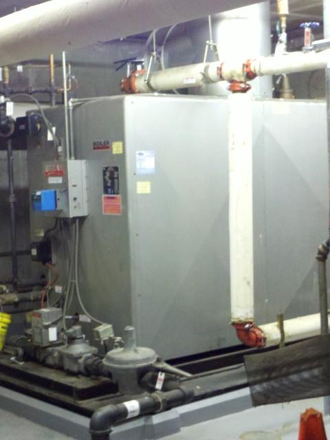 The old Bryan Flex Tube Boiler