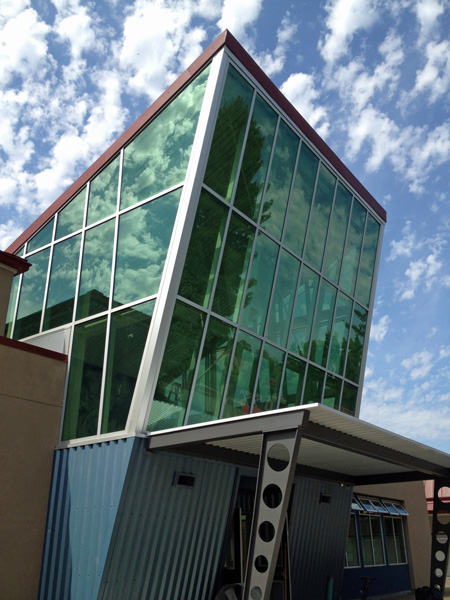 Piner High School Geospatial Building